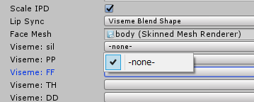 blenderで作ったシェイプキーがUnityにインポートされないときの確認事項